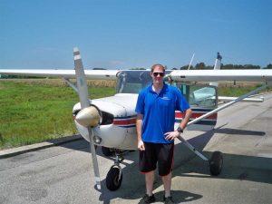Alexander Martin Solo Flight