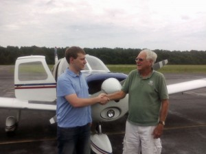 Andrew Wegener Private Pilot Checkride