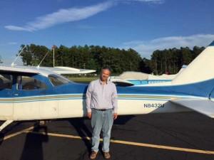 Brian A Johns Solo Flight
