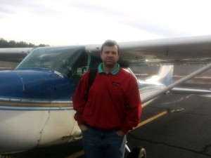 Chris Bass 1st Solo Flight - March 4, 2014