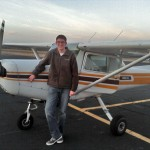 Connor McClanahan 1st Solo Flight