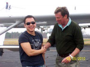 David Yi Solo Flight