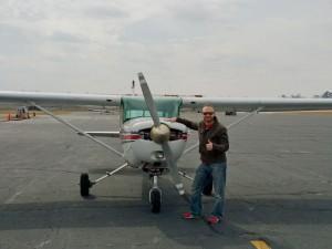Greg Phelps Solo Flight