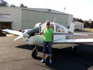 Lynn Norton Solo Flight