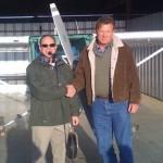 Mark Solomon Solo Flight, KHNZ 12-22-09