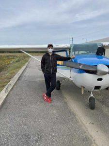 Martin Ma Solo Flight
