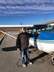 Robert Winston solo flight 12/26/2017 KHNZ