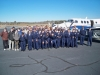 Riverside HS AF ROTC and Aerospace Engineering classes vist HNZ on Feb. 21, 2013
